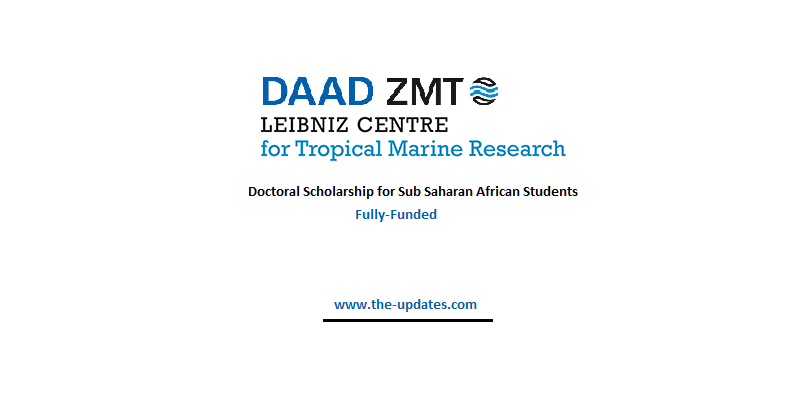 DAAD/ZMT Doctoral Scholarship for Sub-Saharan African Students