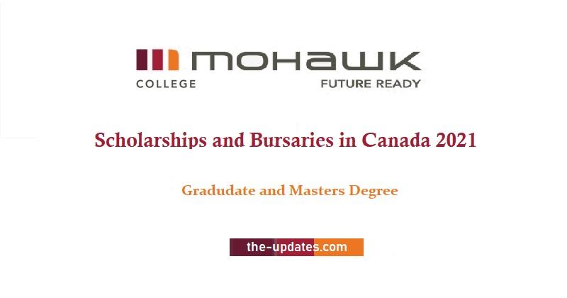Scholarships and Bursaries at Mohawk University, Canada 2021