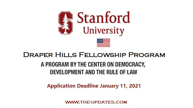 Draper Hills Summer Fellowship Program at Stanford University USA