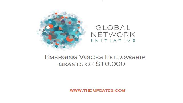 GNI Emerging Voices Fellowship for Professionals in USA 2021