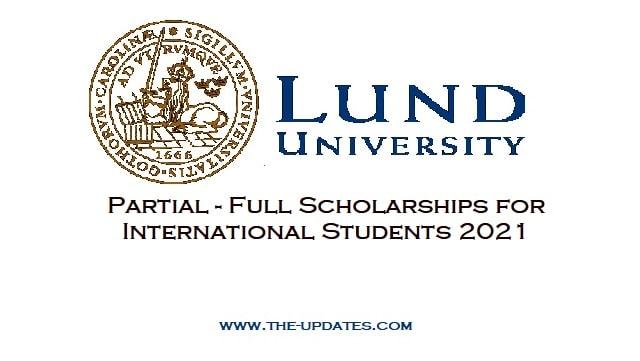 Lund University Global Scholarship Programme Sweden 2021