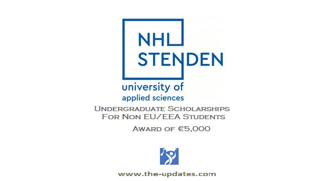 Holland Undergraduate Scholarship at NHL Stenden University of Applied Sciences