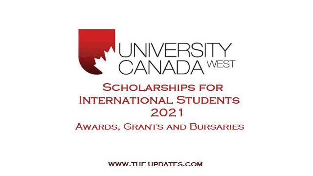 MBA, Graduate, Undergraduate Scholarships at University of Canada West 2021
