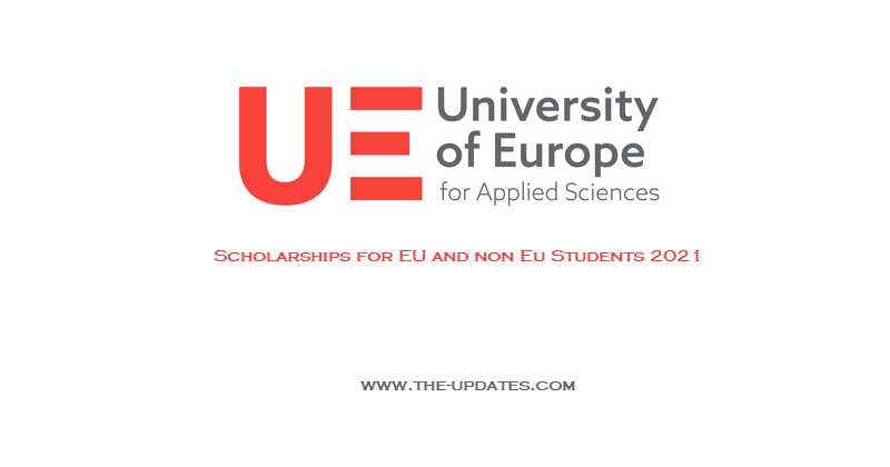Master's Scholarships at the University of Europe for Applied Sciences, 2021