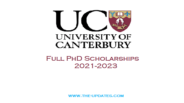 PhD Scholarships on Clean Water Technologies at University of Canterbury