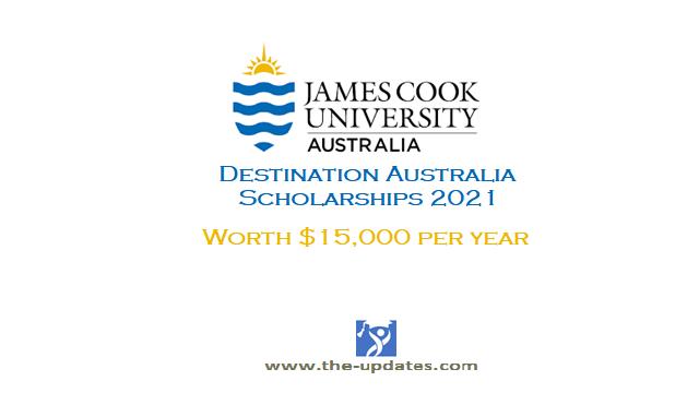 Destination Australia Scholarship at James Cook University Australia