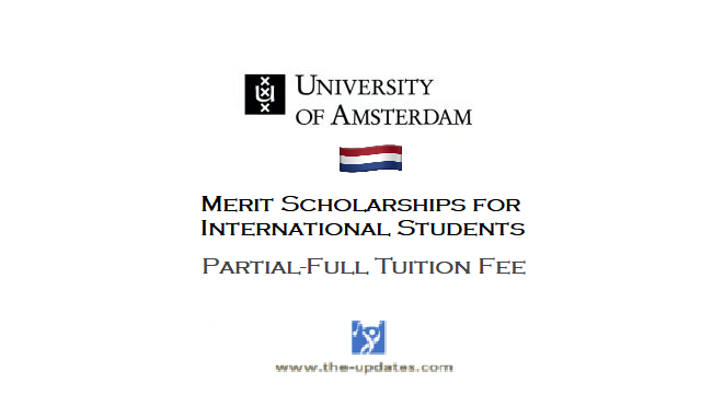 Merit Scholarships for non-EU/EEA Students at University of Amsterdam Netherlands