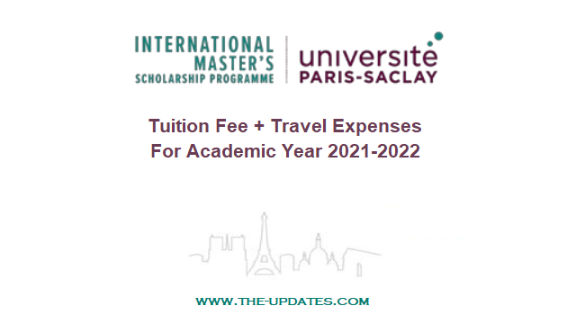 International Master's Scholarship Programme at Université Paris-Saclay, France