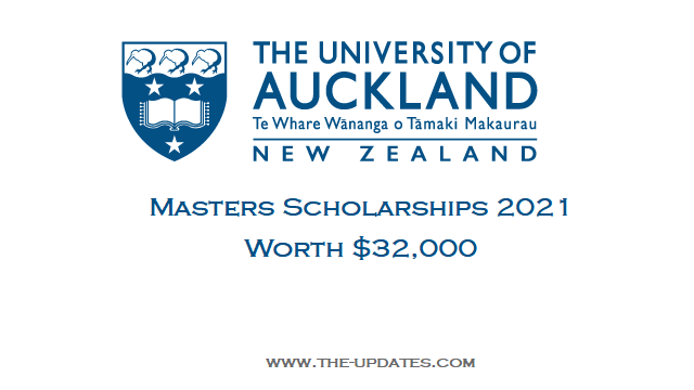 International Business Masters Scholarship at University of Auckland