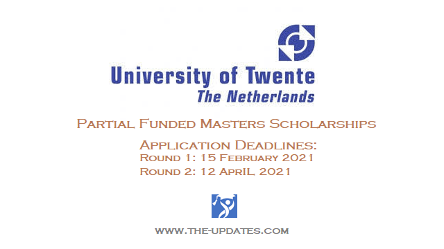 ITC Excellence Scholarship for Masters at University of Twente Netherlands