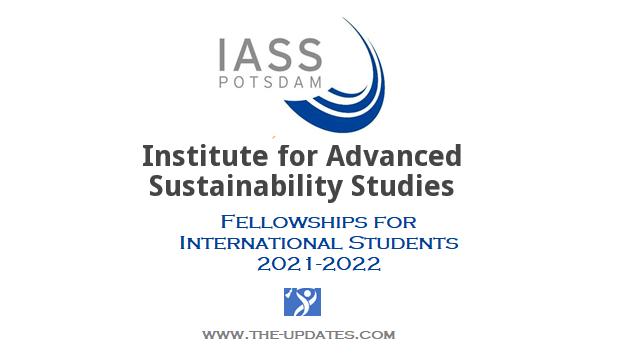 Klaus Töpfer Sustainability Fellowship in Postdam Germany 2021-2022