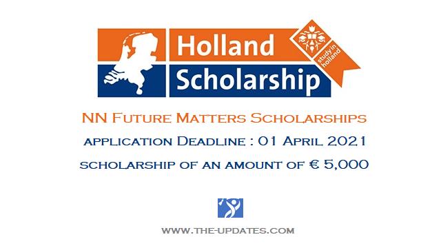 NN Future Matters Scholarship Netherlands 2021