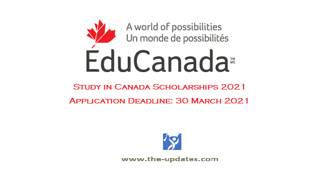 Study in Canada Scholarships EduCanada 2021-2022
