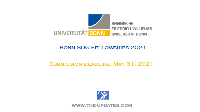 Bonn SDG Fellowships at University of Bonn Germany 2021