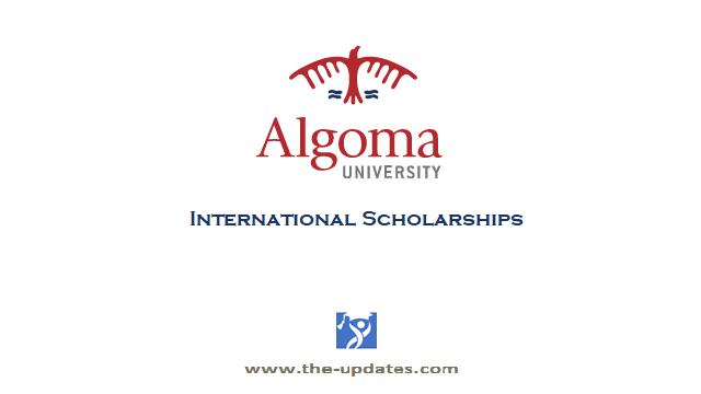 International Scholarships at Algoma University Canada