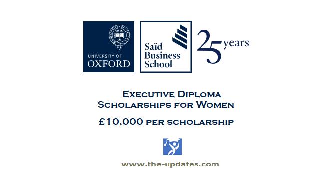 Executive Diploma Scholarships for Women at Oxford University UK