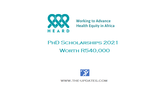 HEARD PhD Scholarships for African Scholars 2021