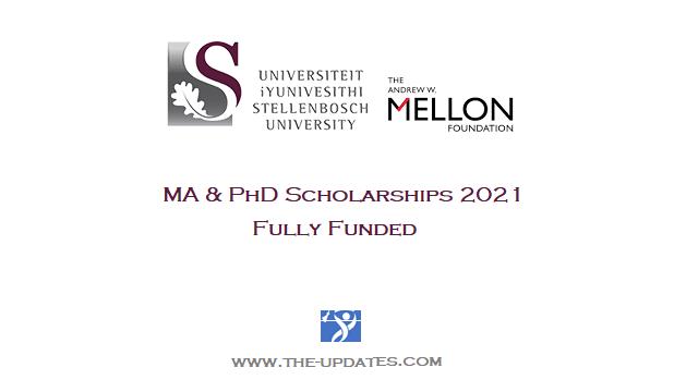 Scholarships at Stellenbosch University South Africa