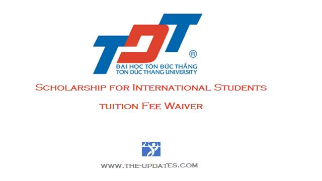 TDTU Scholarship for International Students Vietnam 2021-2022