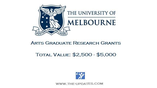 Arts Graduate Research International Grant