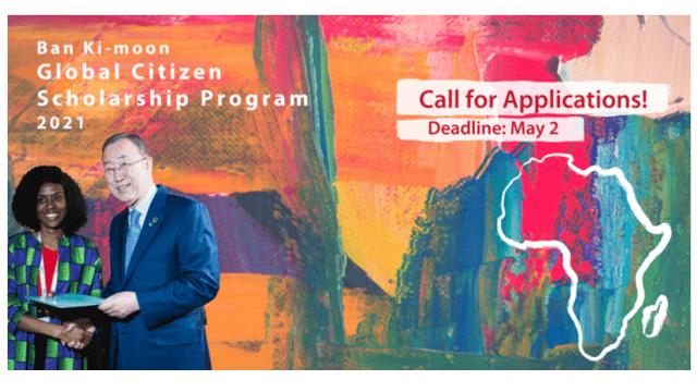 The Global Citizen Scholarship Program by Ban Ki-Moon Center