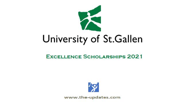 Excellence Scholarships at University of St. Gallen Switzerland