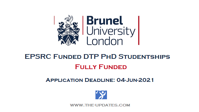 EPSRC Funded DTP PhD Studentships