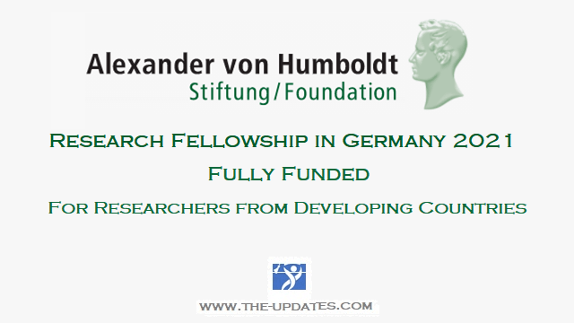 Georg Forster Research Fellowship