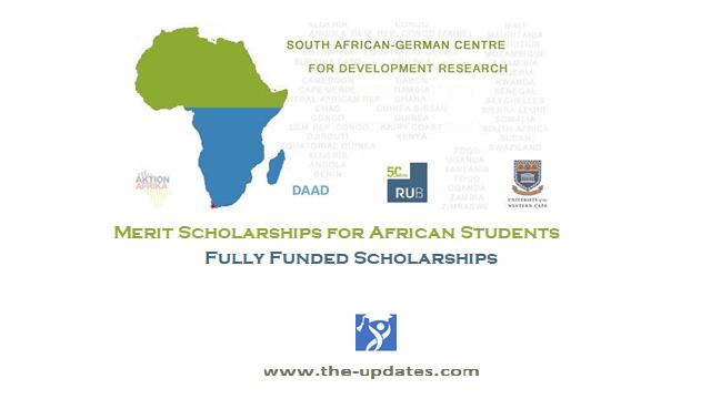 SA-GER CDR Full Scholarships for Sub-Saharan African Students