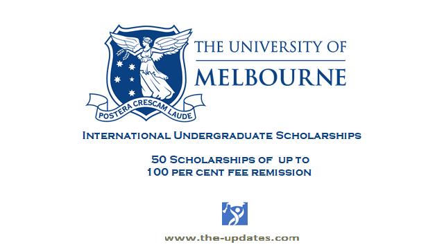 Melbourne International Undergraduate Scholarship