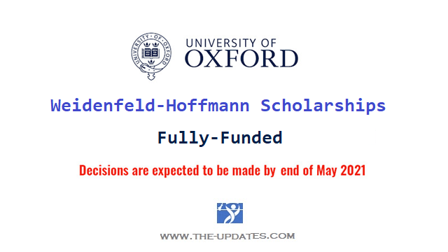 Weidenfeld-Hoffmann Scholarships and Leadership Programme at Oxford University