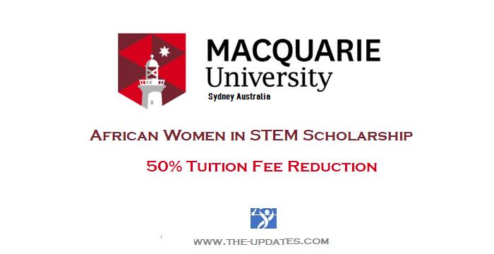 Vice-Chancellor's Scholarship in Australia - African Women in STEM