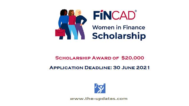 FINCAD Women in Finance Scholarship in France