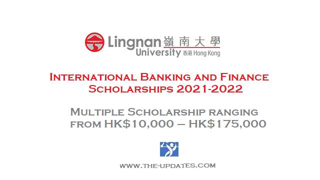 International Banking and Finance Scholarships