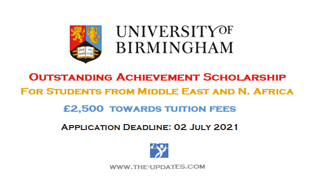 Middle East & N. Africa Outstanding Achievement Scholarship