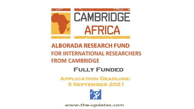 Cambridge Africa Research Grants 2021-2022