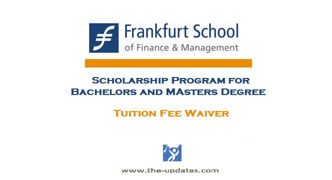 Frankfurt school scholarship 2021-2022