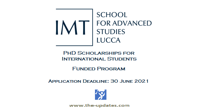 IMT PhD Scholarships Italy 2021-2022