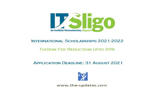 IT Sligo International Scholarship Ireland 2021-2022