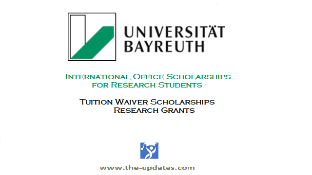 International Office Scholarships for International Students at University of Bayreuth Germany 2021-2022
