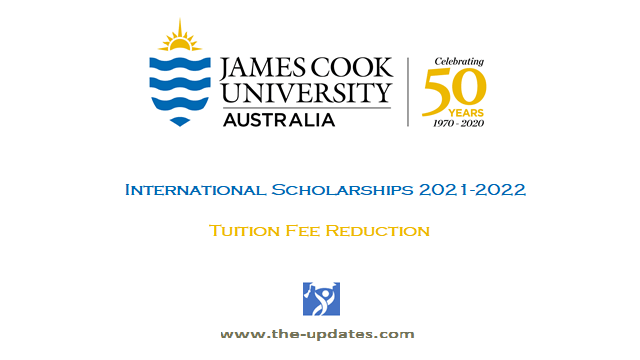 James cook university International scholarships Australia 2021-2022