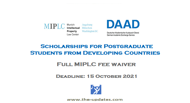 MIPLC DAAD Scholarships for Developing Countries Students Germany 2021-2022