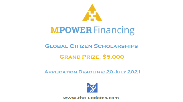 Mpower Global Citizen Scholarships USA Canada 2021-2022
