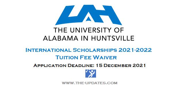International Scholarship at University of Alabama Huntsville