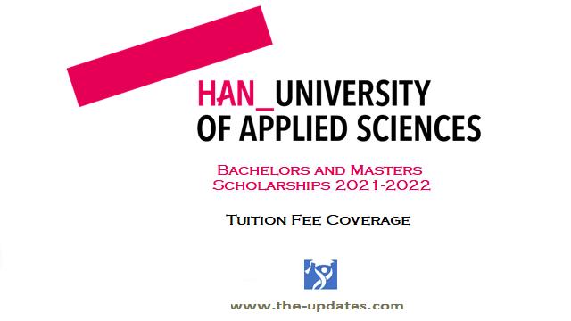 Bachelors and Masters Scholarship Han university Netherlands