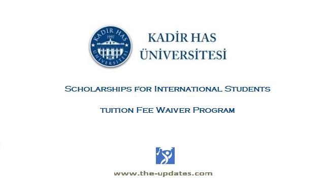KHAS International Scholarship Awards Turkey 2021-2022