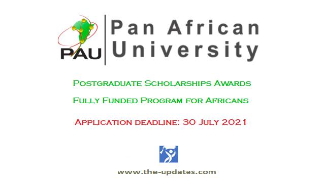 PAU Institute postgraduate scholarship awards 2021-2022