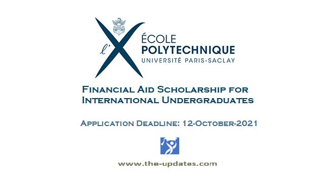 Ecole Polytechnique Foundation scholarships France-2021-2022