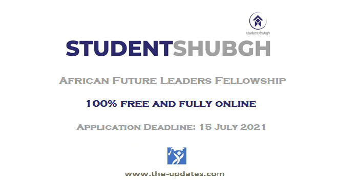African Future Leaders Fellowship Programme at Studentshubgh 2020-2021