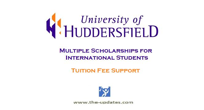 Scholarships at University of Huddersfield UK